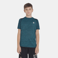 Boys Solid Polyester T Shirt